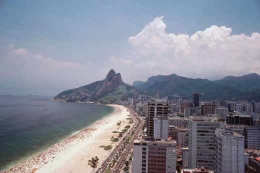 Stock Photo: 208-2451B Ipanema Beach