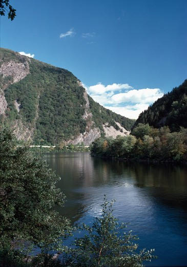 Stock Photo: 2090-182 USA, New Jersey, Delaware Water Gap National Recreation Area