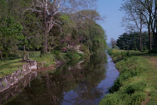 Stock Photo: 2090-725 Delaware Canal