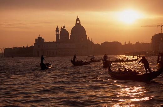 Stock Photo: 2090-770 Basilica di Santa Maria della Salute Venice, Italy