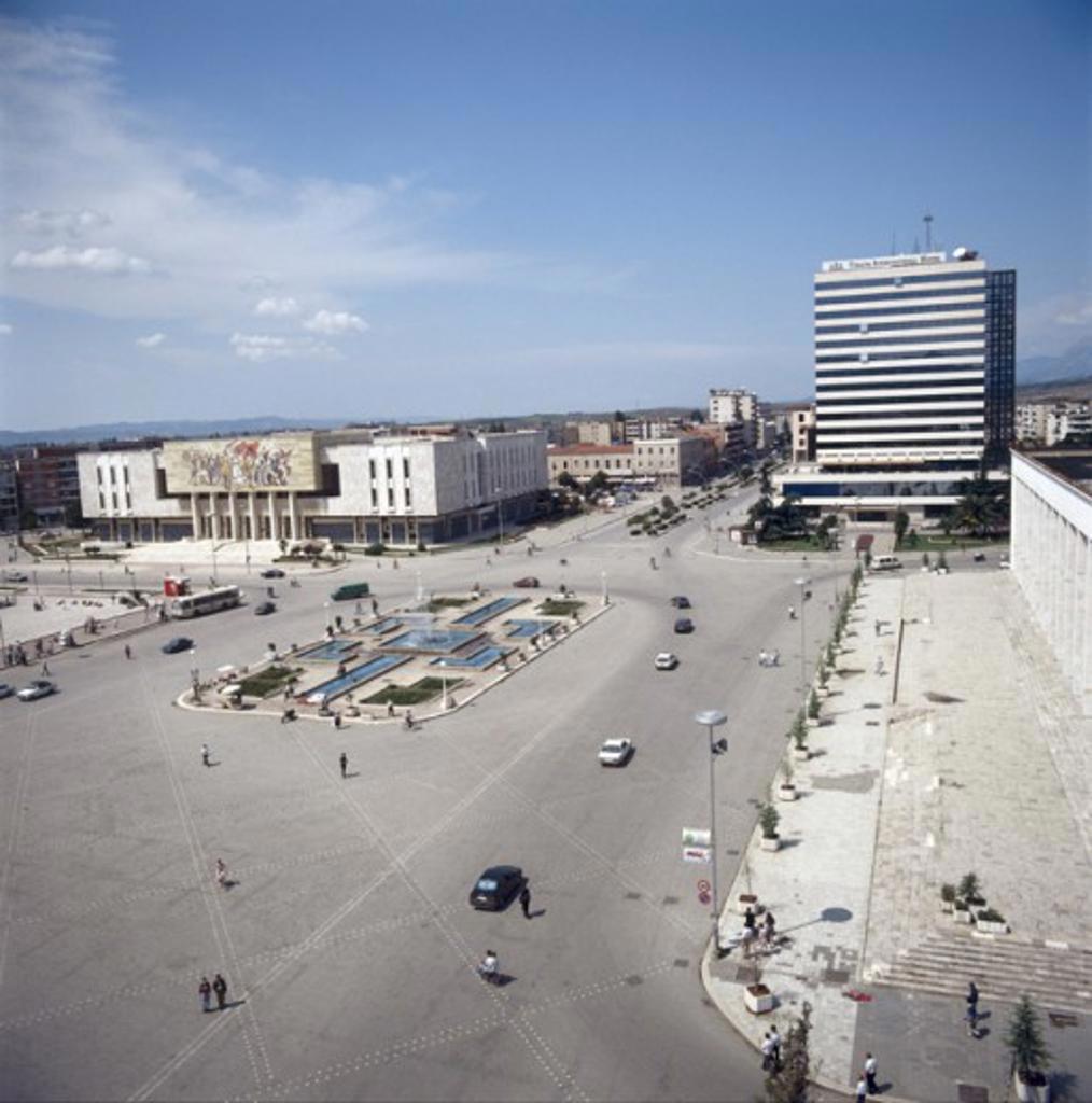 Stock Photo: 2102-1318B Skenderbeg Square Tirana Albania