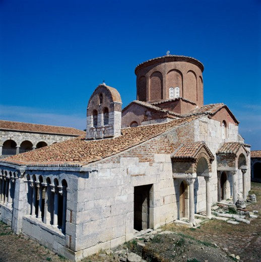 Stock Photo: 2102-1320 Byzantine Monastery, Apollonia, Albania