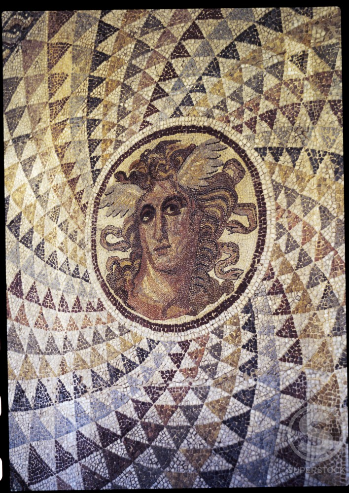 Stock Photo: 2102-1326 Medusa 
