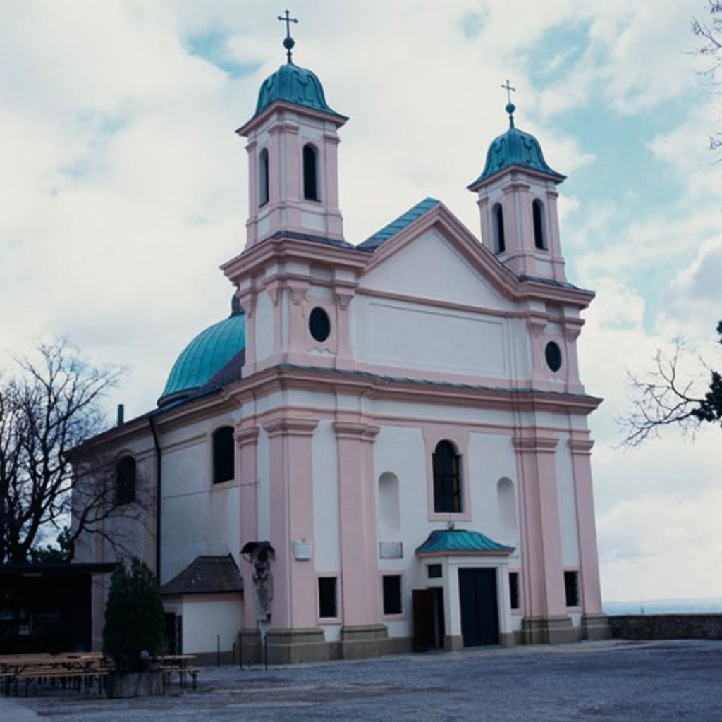 Stock Photo: 2102-2070 Facade of a Church building, Kahlenberg, Vienna, Austria