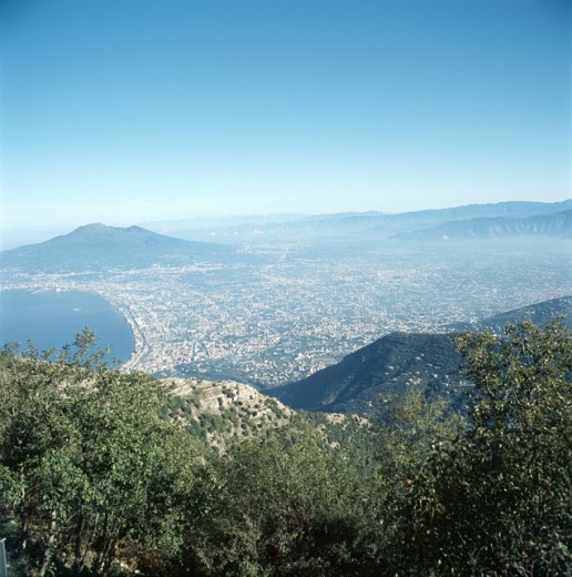 Stock Photo: 2102-2208 Mount Vesuvius