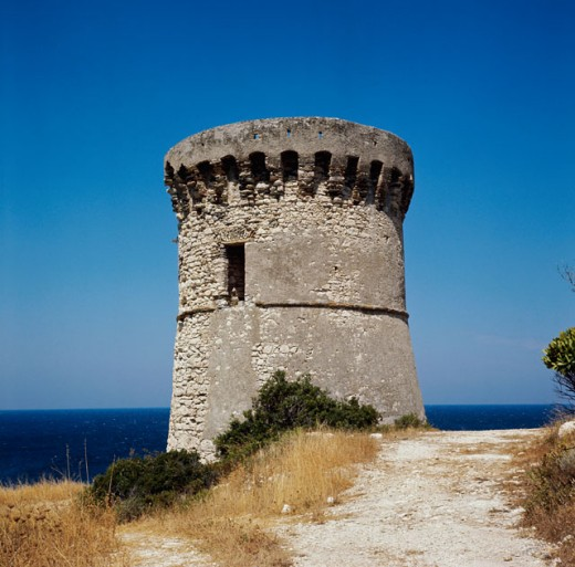 Stock Photo: 2102-2395 An abandoned tower