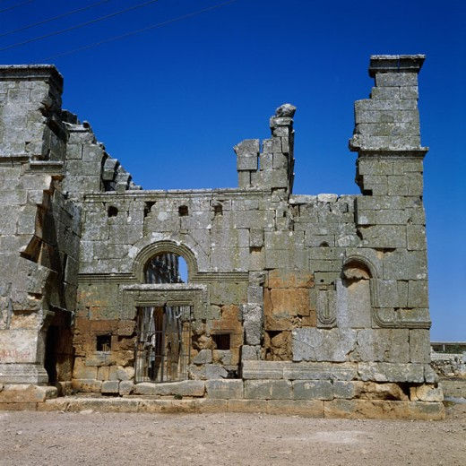 Stock Photo: 2102-2521 Qalb Lozeh Basilica