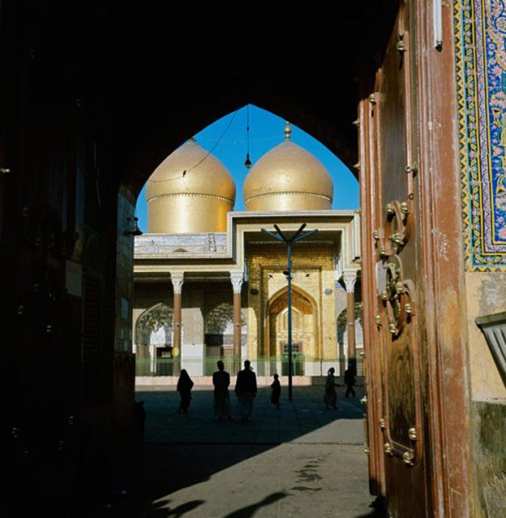 Kazimain Mosque, Baghdad, Iraq : Stock Photo