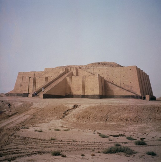 Stock Photo: 2102-2528 Ziggurat