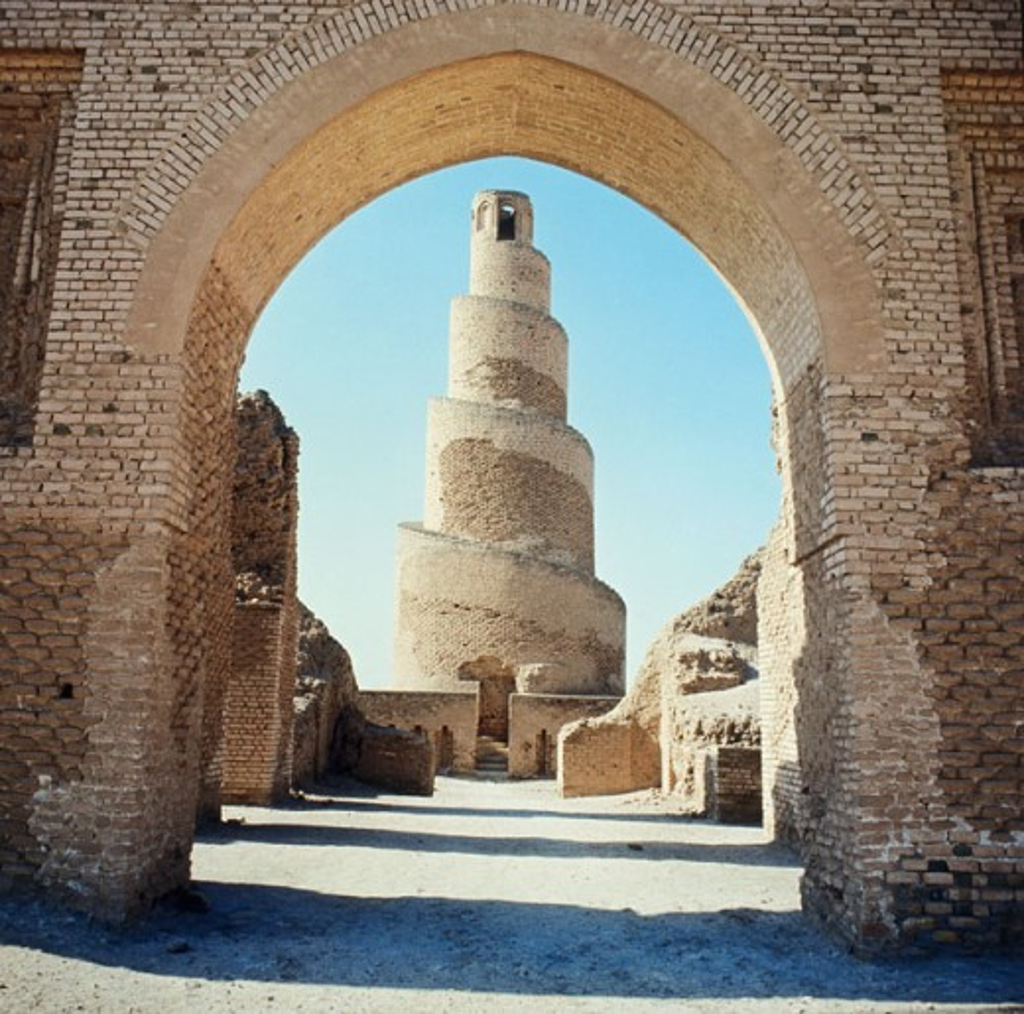 Stock Photo: 2102-2530 Abu Dulaf Mosque Samarra Iraq