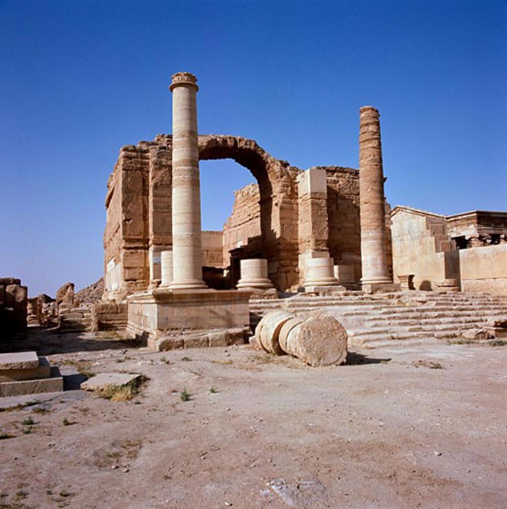 Hatra Iraq : Stock Photo