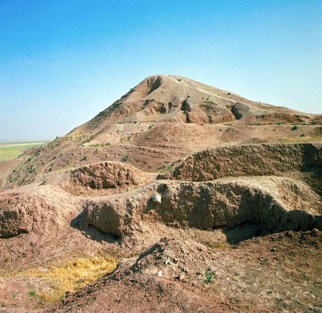 Iraq, Ancient Assyrian city Nimrud : Stock Photo