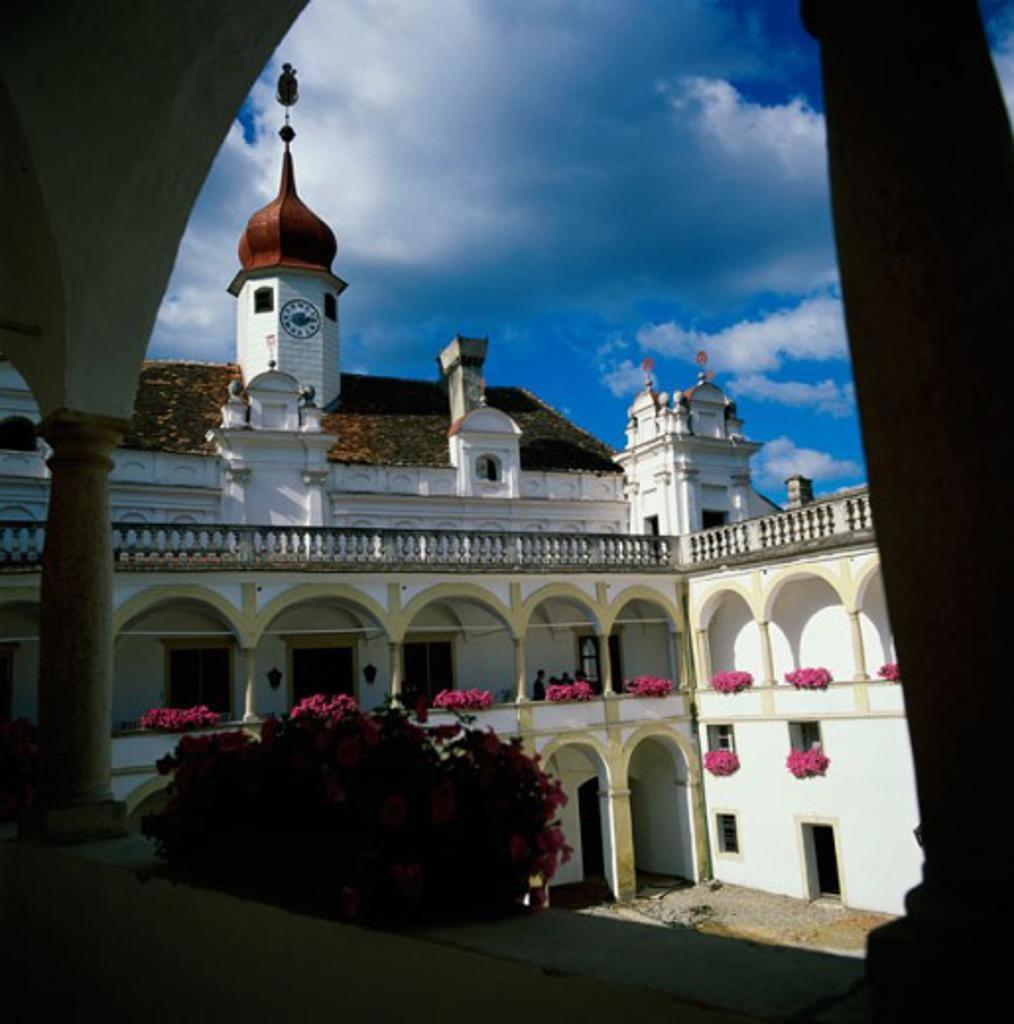 A castle, Herbstein, Austria : Stock Photo