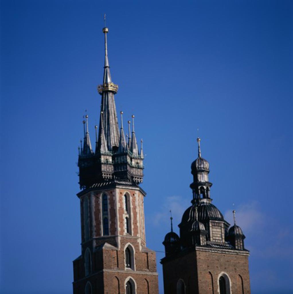 Stock Photo: 2102-3191 St. Mary's Church Krakow Poland