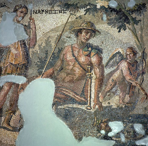 Stock Photo: 2102-3313 Narcissus and Echo