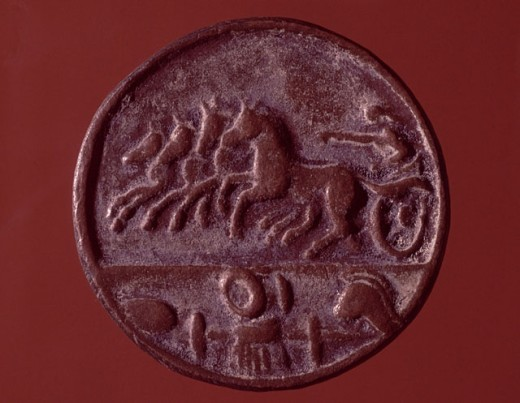 Roman Coin Artist Unknown Istanbul, Turkey : Stock Photo