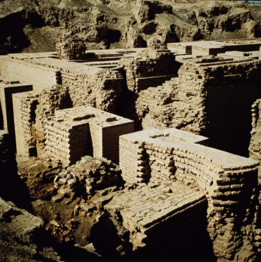Stock Photo: 2102-470 Hanging Gardens of Babylon
