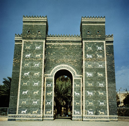 Stock Photo: 2102-479 Ishtar Gate  