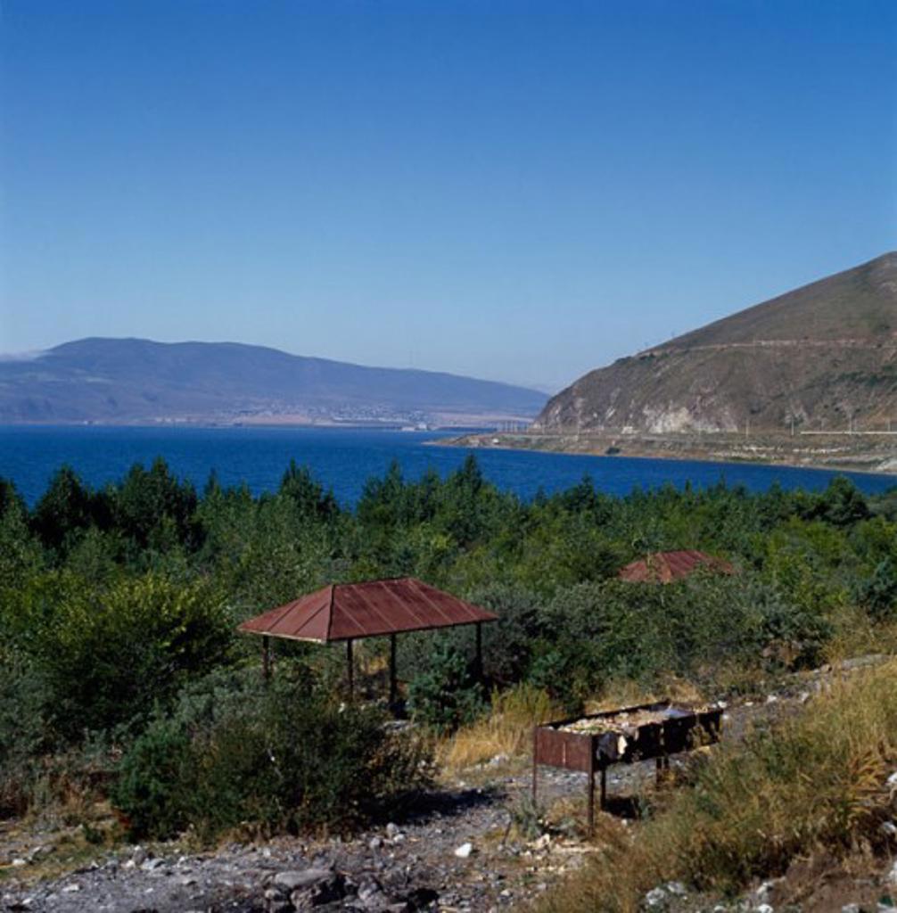 Stock Photo: 2102-525 Lake Sevan Armenia