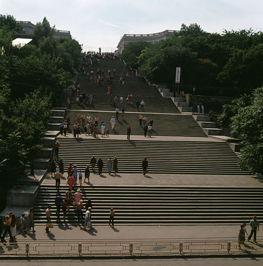 Stock Photo: 2102-532 Potemkin Steps