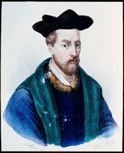 Stock Photo: 2102-535640 Francois Rabelais (French Writer and Physician 1490-1553)