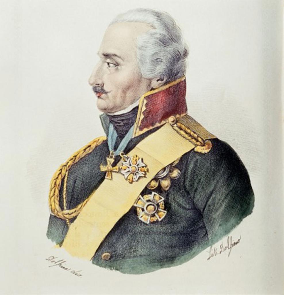 Blucher, Gebhard Leberecht Von (Prussian Field Marshall 1742-1819) World History/Germany(- )   : Stock Photo
