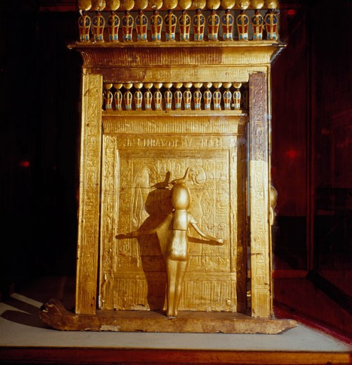 Gold Urn of Tutankhamun
