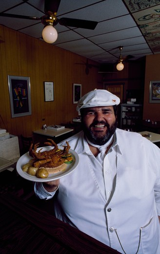 Stock Photo: 2104-126 Paul Prudhomme