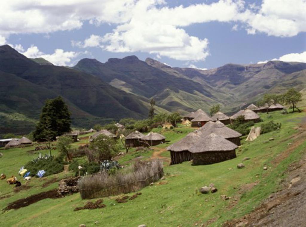 Stock Photo: 2106-1780 Pitsend Lesotho