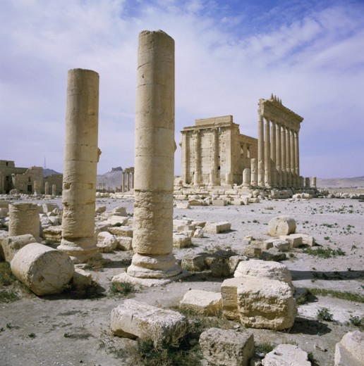 Stock Photo: 2106-288 Temple of Baal Shamin