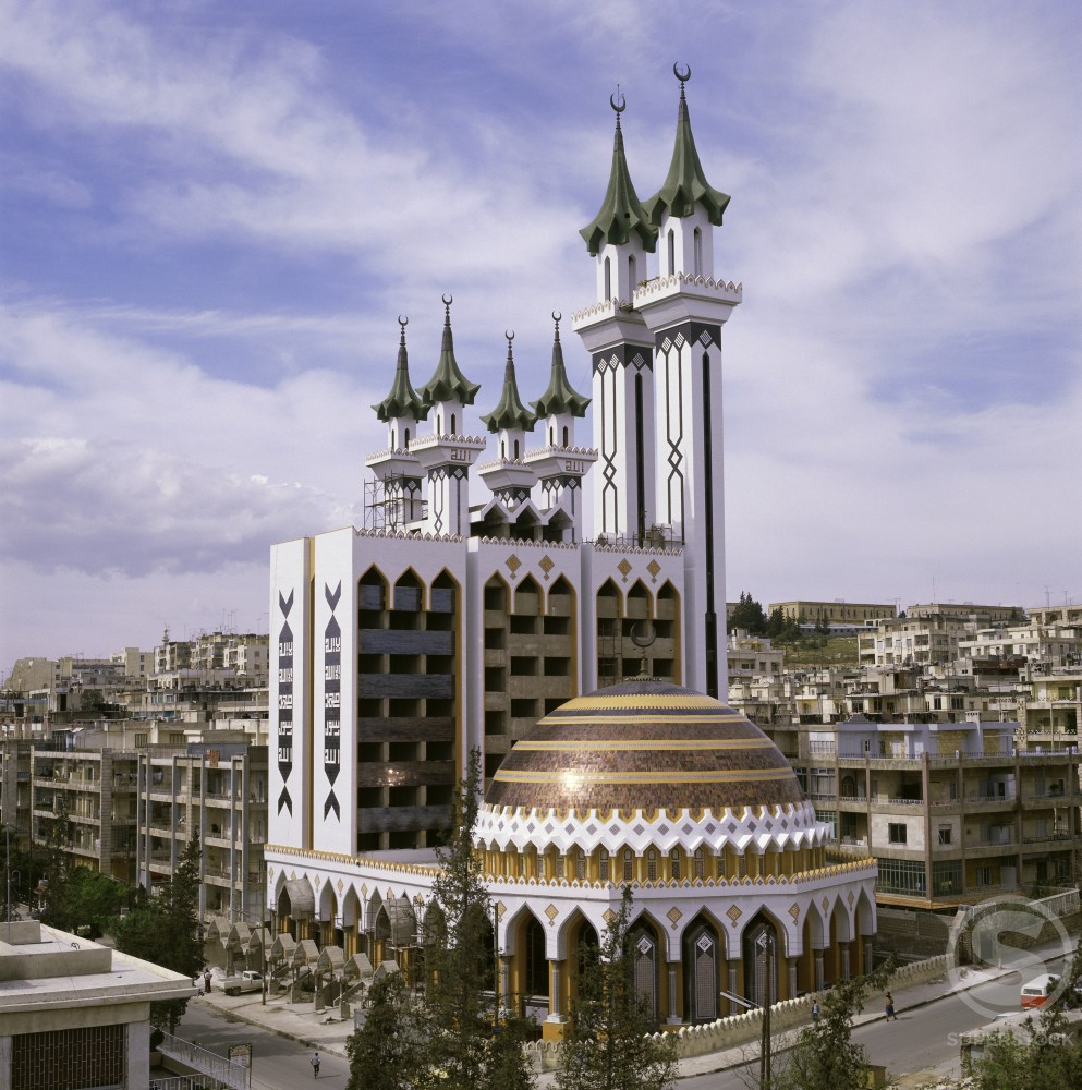 Stock Photo: 2106-307 Al-Rahman Mosque