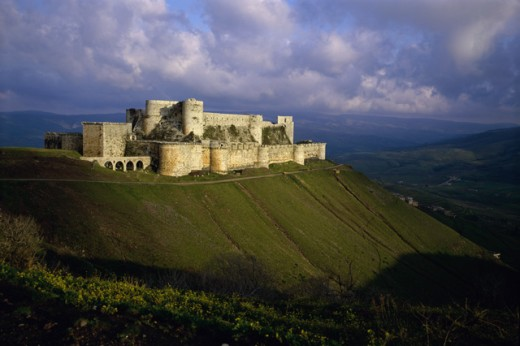 Stock Photo: 2106-325 Crac des Chevaliers