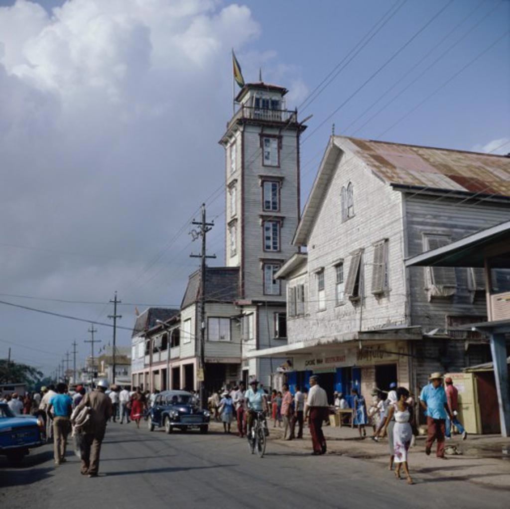 City Hall New Amsterdam Guyana : Stock Photo