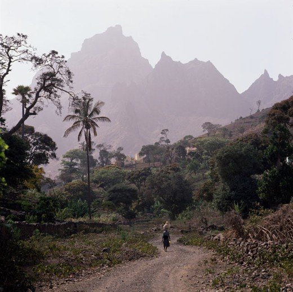 Ribeira Brava Sao Nicolau Island Cape Verde : Stock Photo