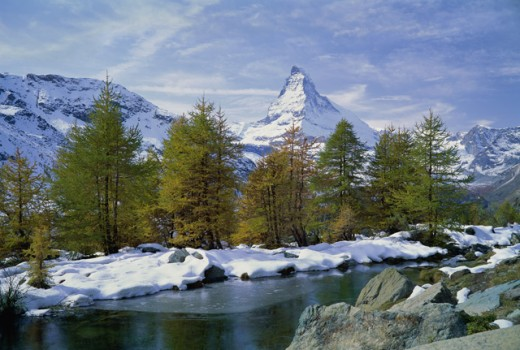 Stock Photo: 2109-1290A Matterhorn