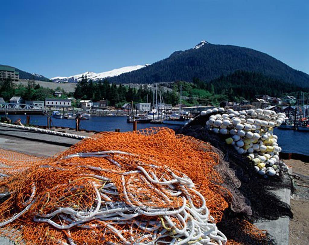 Ketchikan Alaska USA : Stock Photo