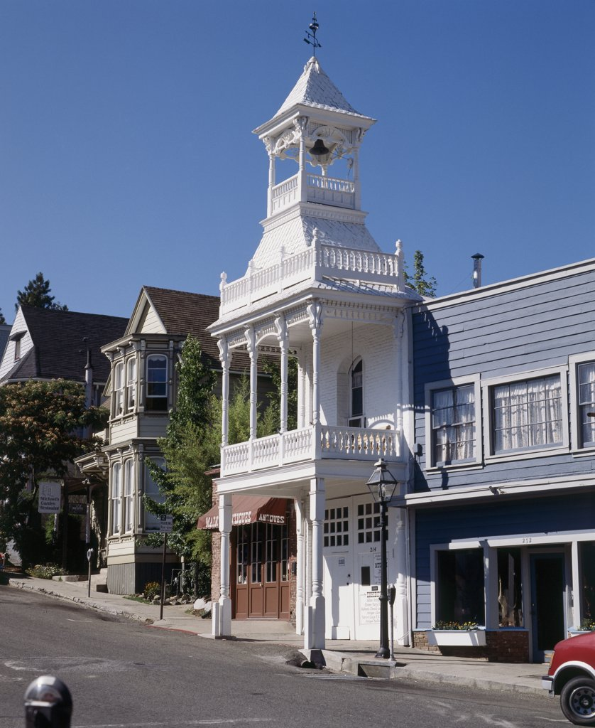 Stock Photo: 2112-256 Firehouse No. 1