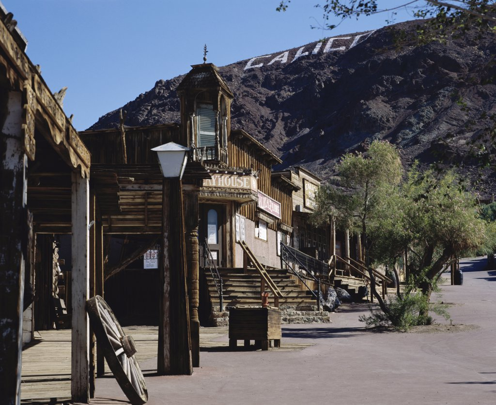 Stock Photo: 2112-904A Calico Ghost Town, Barstow, California, USA