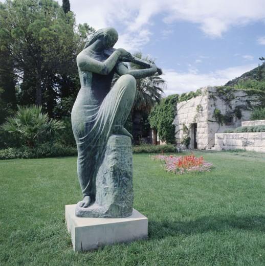 Stock Photo: 2116-580176 Croatia, Zagreb, Ivan Mestrovic Foundation, Distant Accords by Ivan Mestrovic, 1883-1962