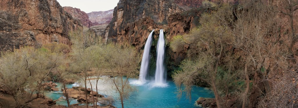 Stock Photo: 2117-348 Havasu Falls