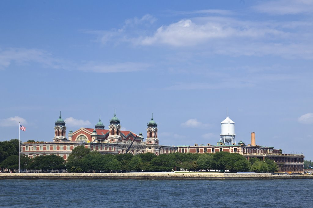 Stock Photo: 2117-588520 USA, Port of New York and New Jersey, Ellis Island Immigration Museum