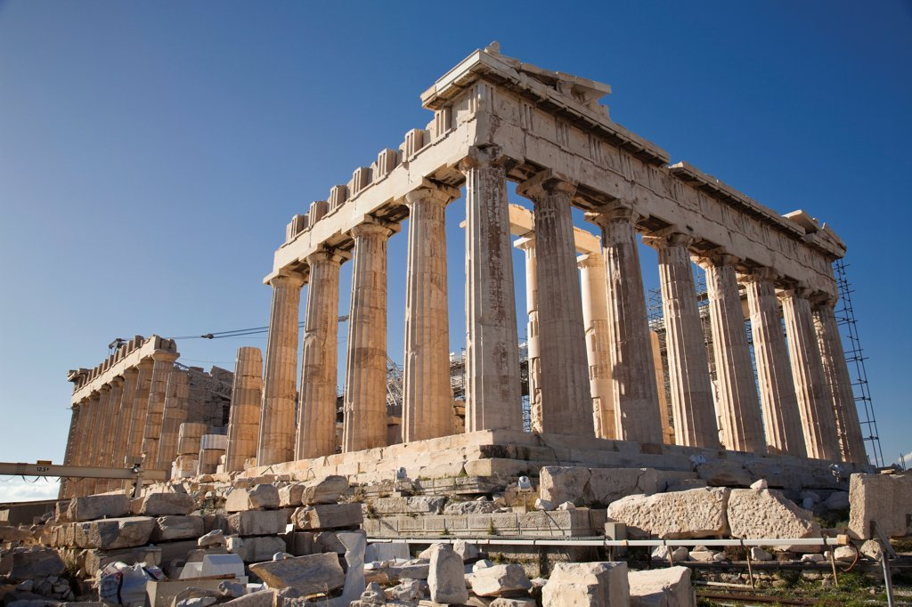 Stock Photo: 2117-588621 Greece, Athens, Acropolis, Parthenon