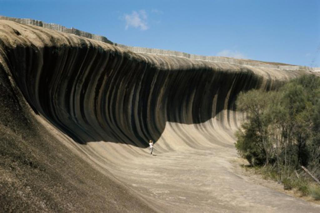 Stock Photo: 2120-476320 Wave Rock Hyden Australia