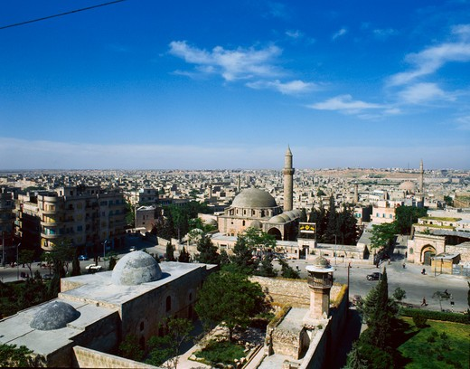 Stock Photo: 2120-501766 Syria, View of Aleppo