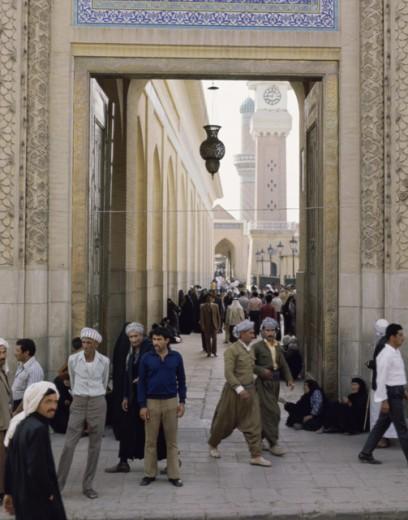 Bab Al-Sheikh Baghdad Iraq : Stock Photo
