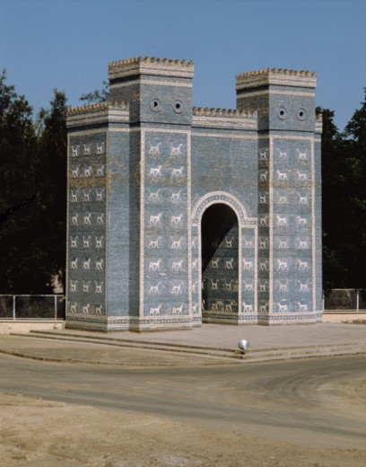 Stock Photo: 2120-501877A Ishtar Gate  