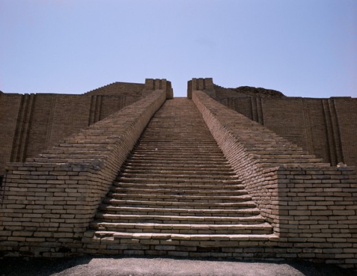 Stock Photo: 2120-501881 Ziggurat