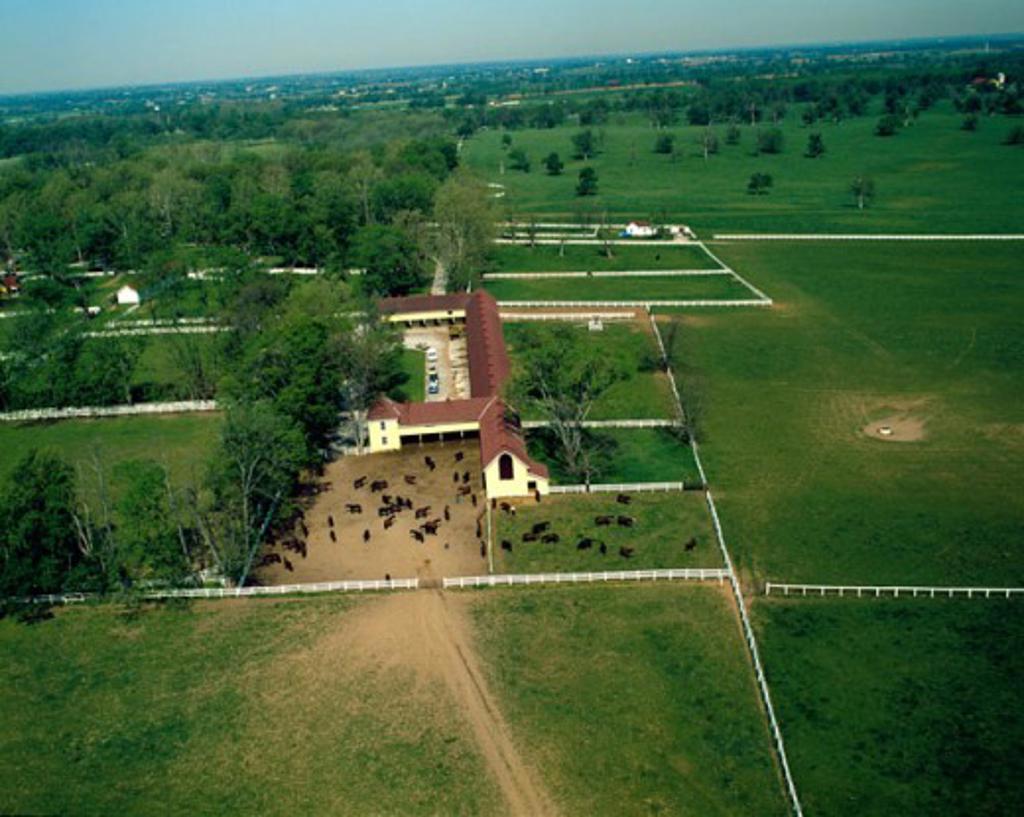 Stock Photo: 2120-565166 Bluegrass Basin Kentucky USA