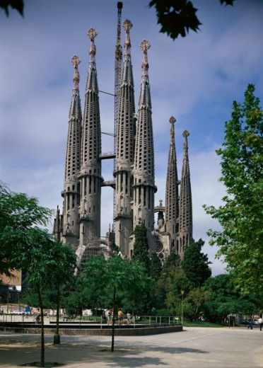 Stock Photo: 2131-519425 Sagrada Familia