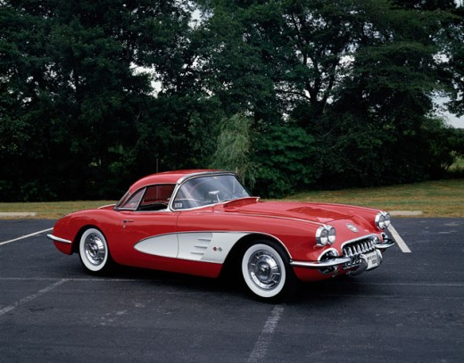 Stock Photo: 2134-143 Chevrolet Corvette, 1958